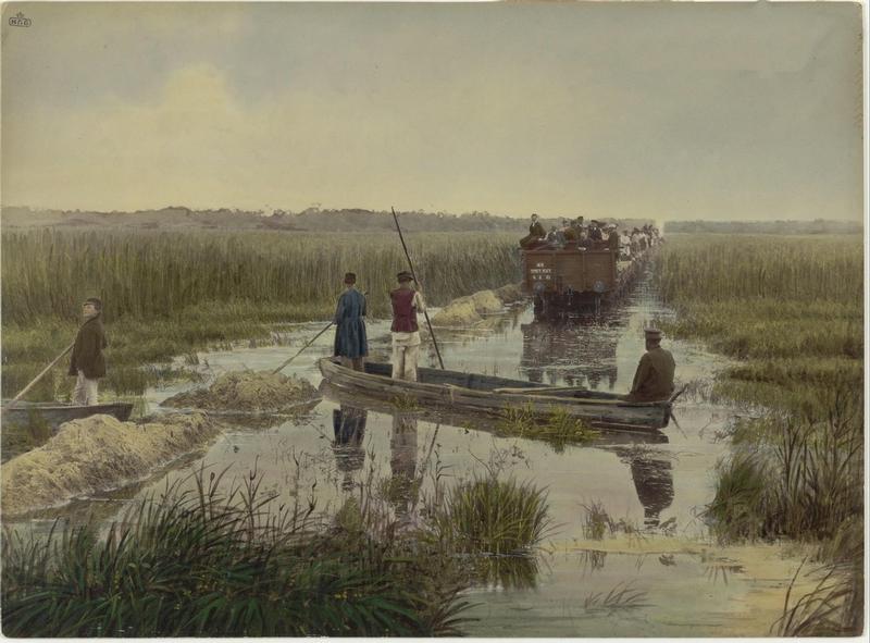 Railway Construction In 1892