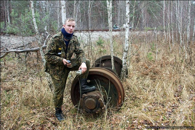 Infiltration to Pripyat