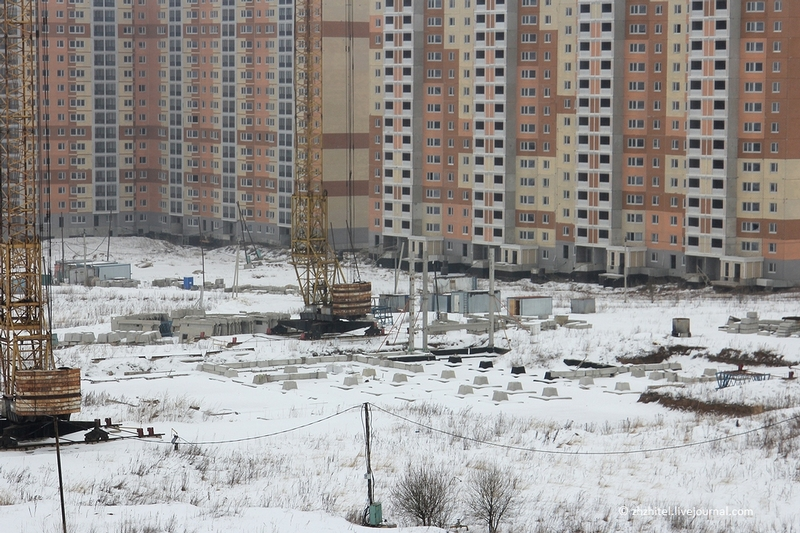 Ghost Town Under Moscow