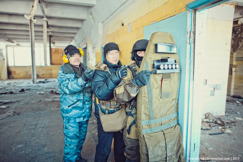 Tactical Exercises of Russian Police