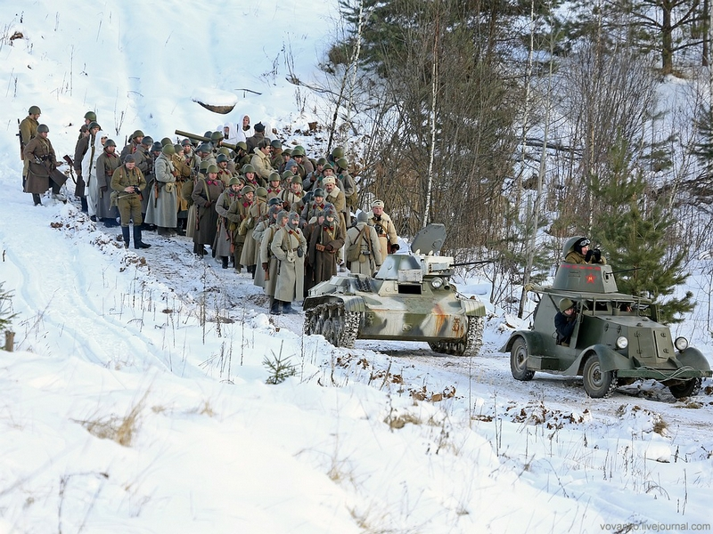 Soviet Troops Under Moscow In December 1941