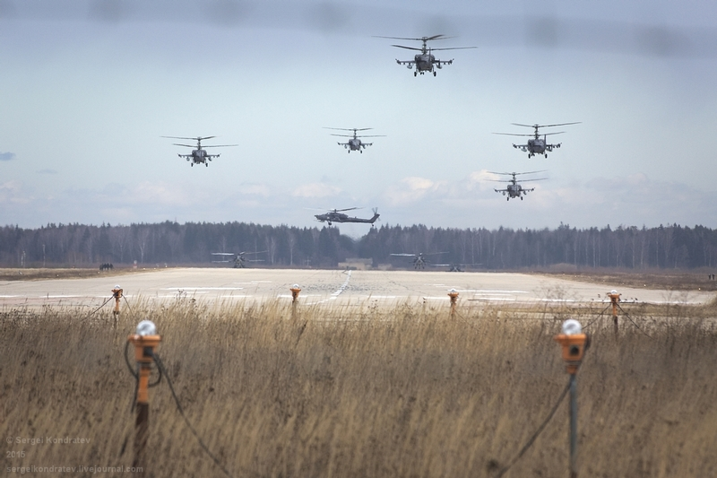 Air Rehearsal of the Victory Parade