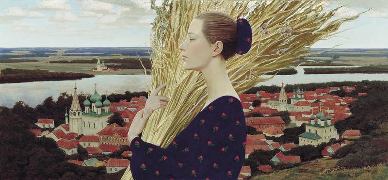 Art Inspiring Russian Women