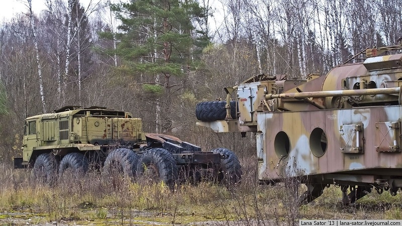 Another Forest Full of Abandoned Equipment