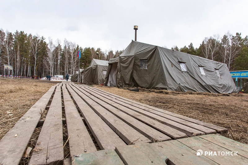 In the Camp of Rescuers