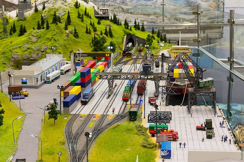 Toy World of the Russian Railways