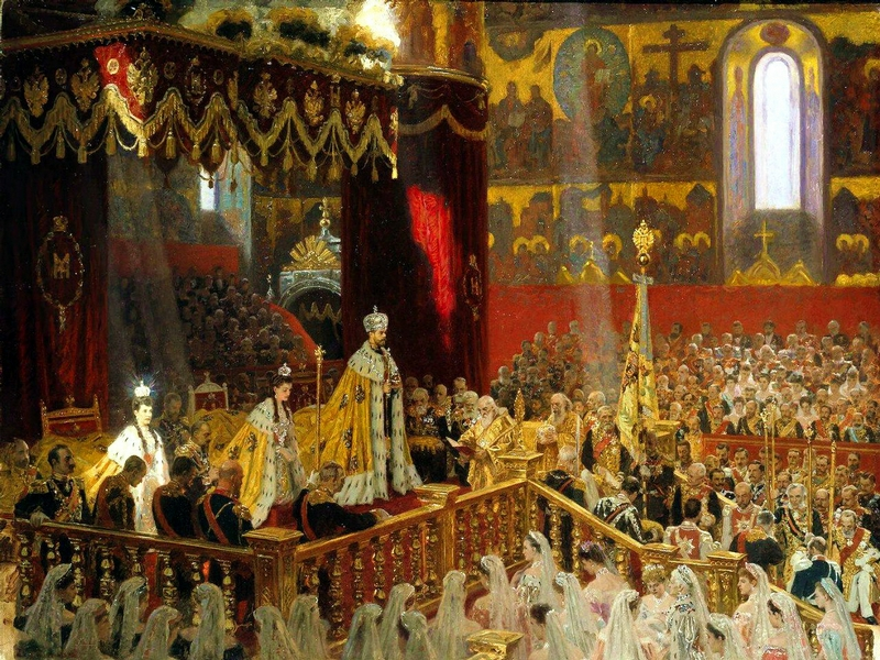 Russian Royalty On the Great Paintings
