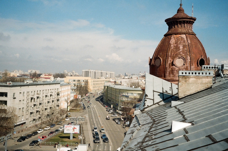 On the Roofs of Petersburg