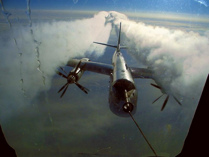 Russian Bear In the Air