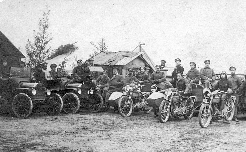 Motorcycles In the Russian Empire, Part II