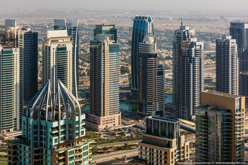 Climbing High In Dubai