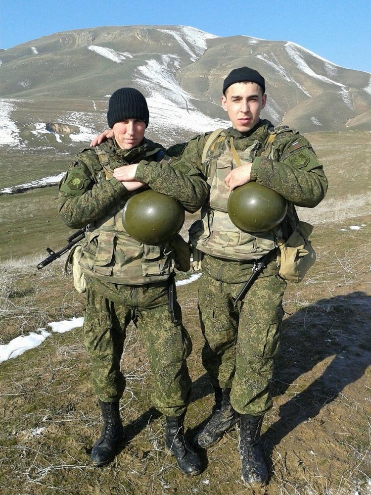 Russian Soldiers In Tajikistan