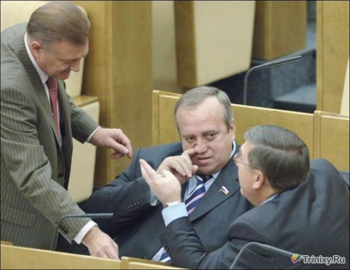 Daily Routine of Russian Lawmakers