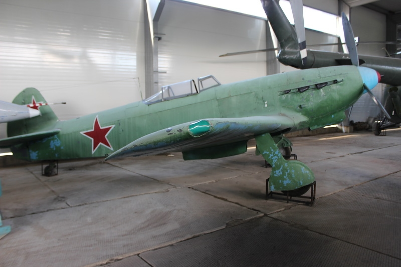 Military Museum of the Russian Northern Fleet: In the Hangar