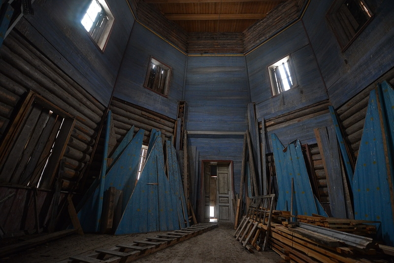 Abandoned Russian Churches of the 17th Century