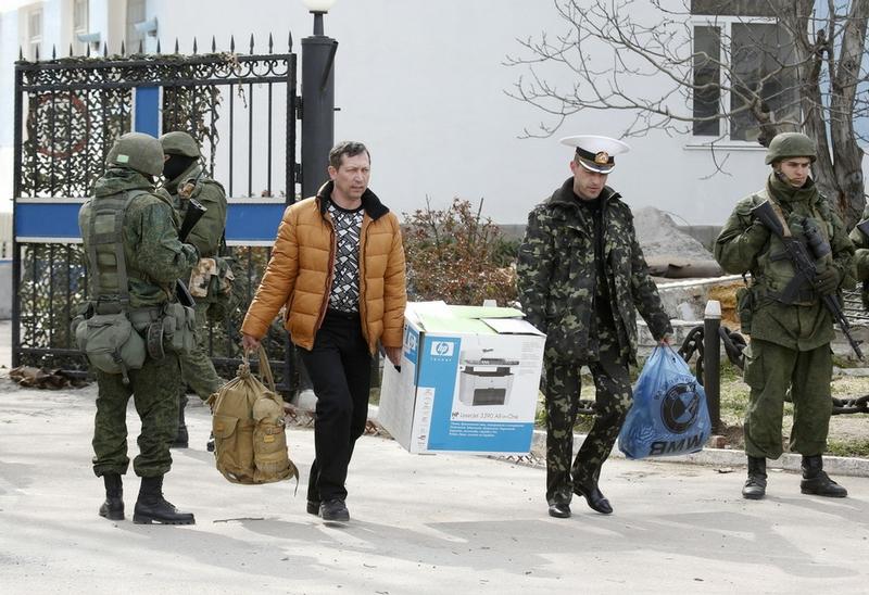 Taking Over Sevastopol Ukrainian Fleet Headquarters