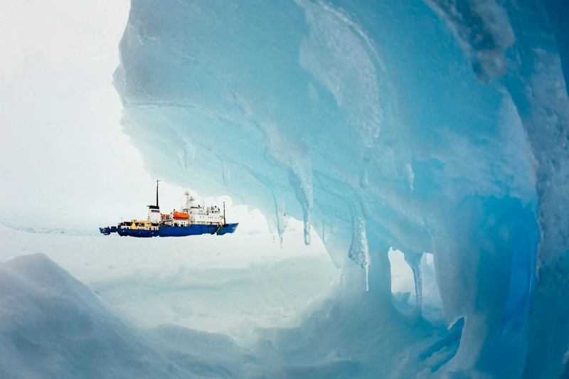 Rescue Operation In the Antarctic