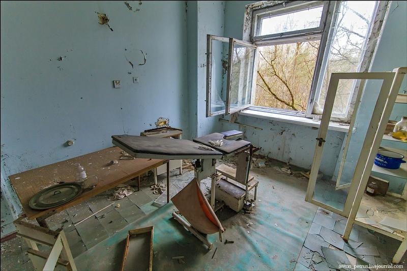 The Abandoned Hospital of Pripyat