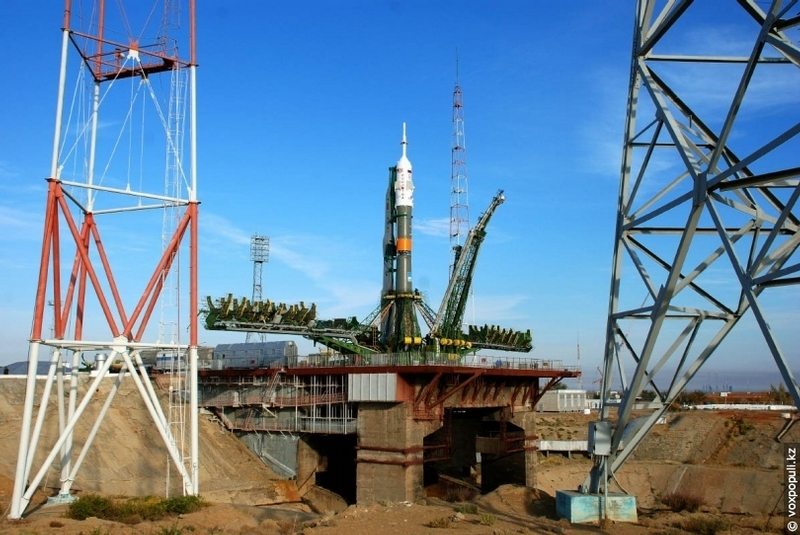 Launching Space Mission Vehicles From Baikonur Cosmodrome
