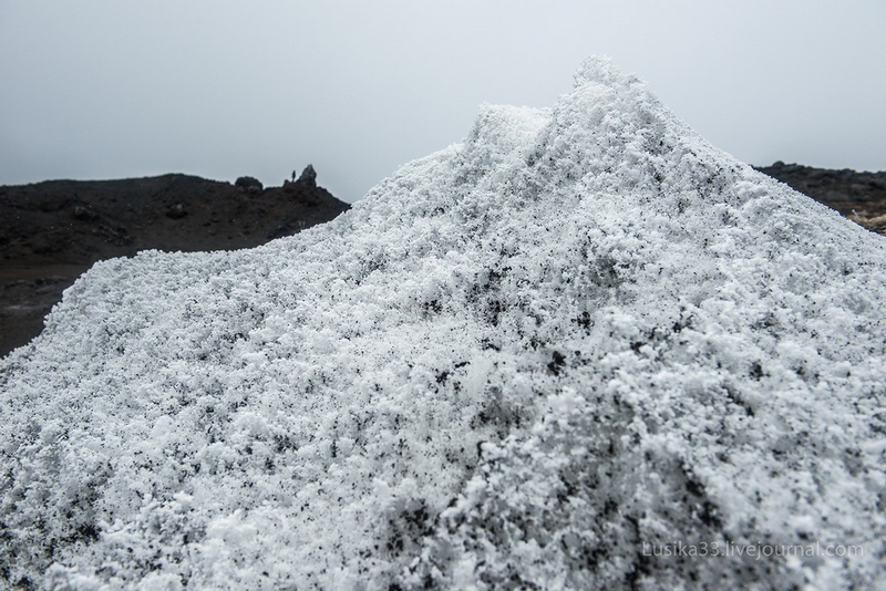 Snow And Lava