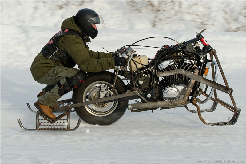 Russian Winter Motorcycle Rally