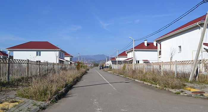 A New Villa Community In Sochi Gets Plundered