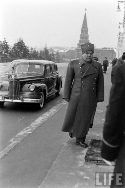 VIP Guests In the Moscow Kremlin 1960