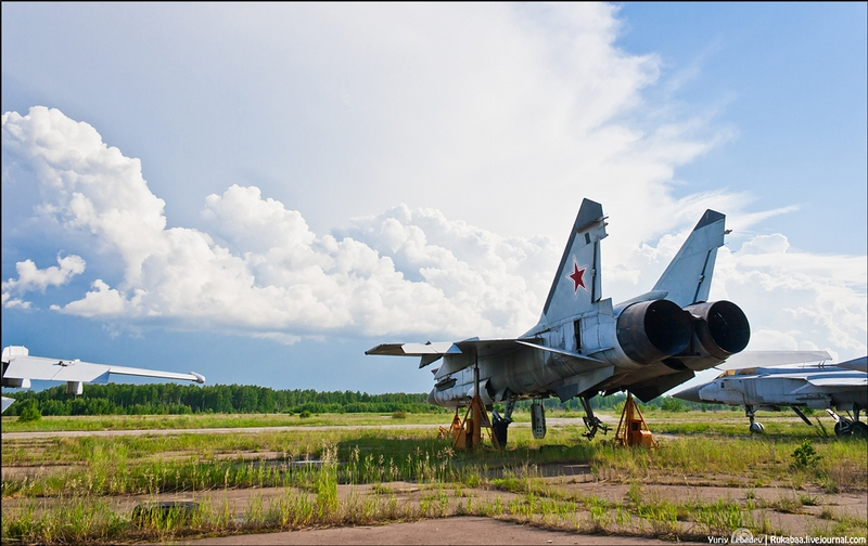 Airfield of MiG Fighters