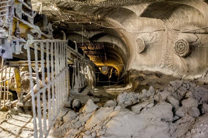 In a Huge Saltmine