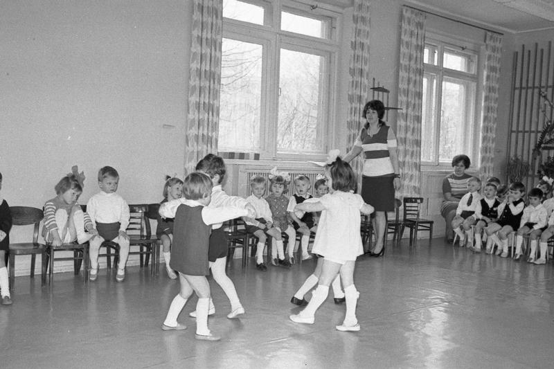 Kindergarten of the Soviet 70s