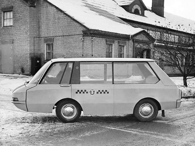Unique Soviet Taxi Cab