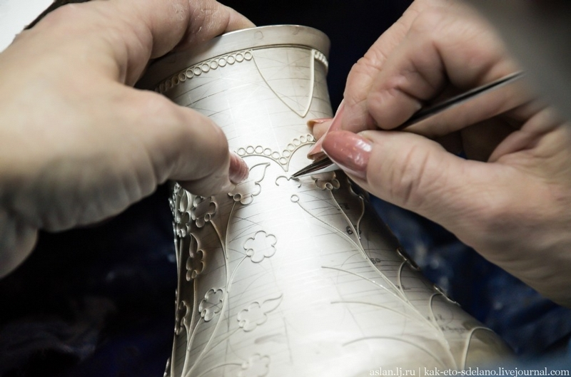 Turning Silver Into Russian Masterpieces