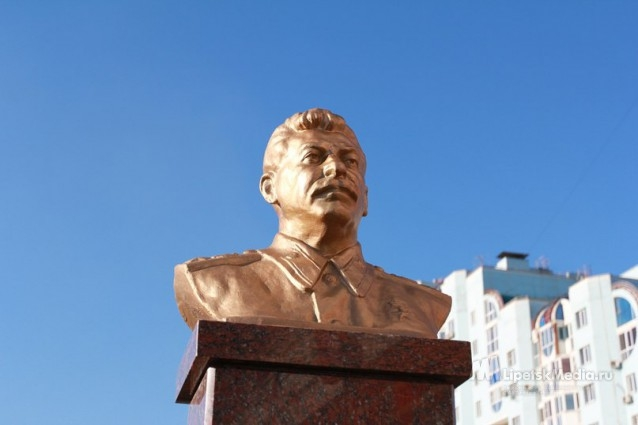 Stalin Monuments Appear In Russian Cities