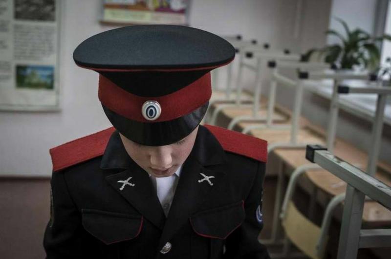 In the Russian Cadet School