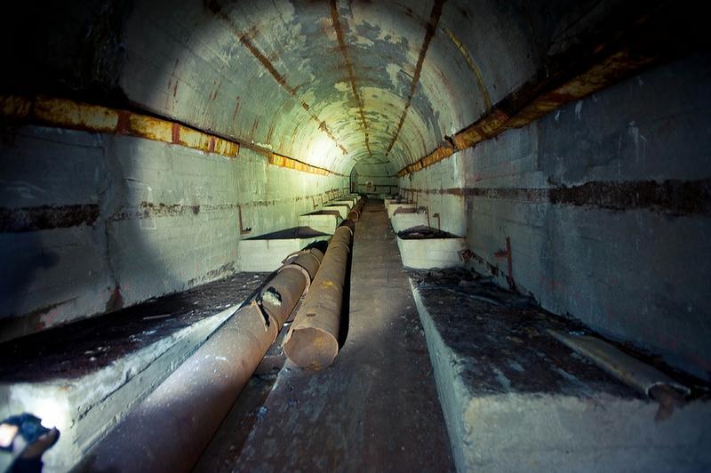 Soviet Shelter For Submarines
