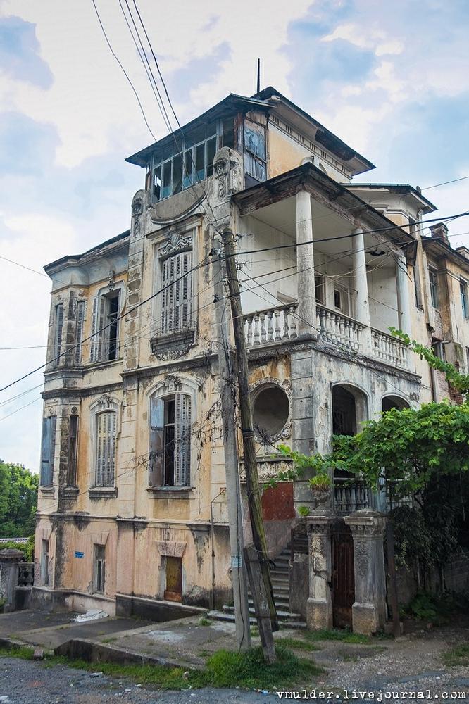 Two Abkhazian Abandoned Houses