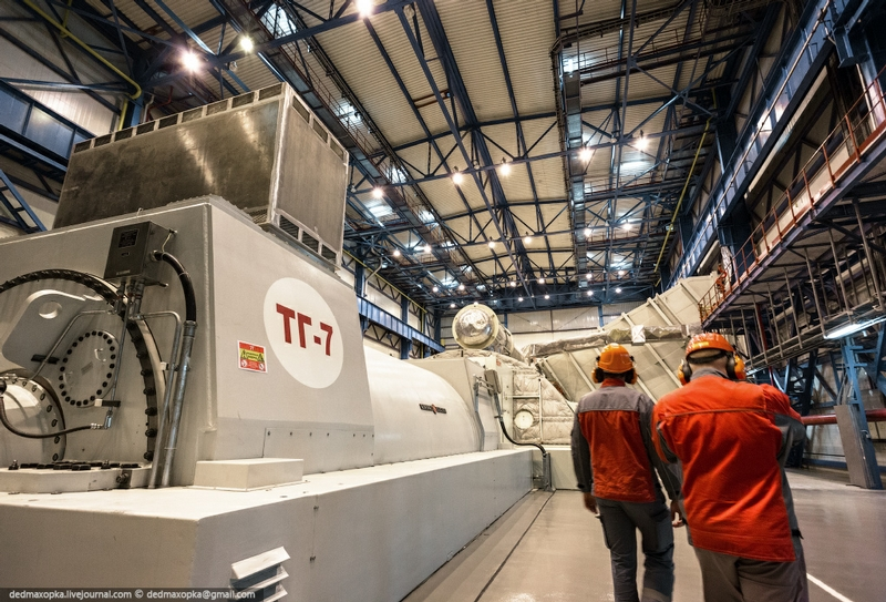 The Most Powerful Thermal Power Plant In Russia