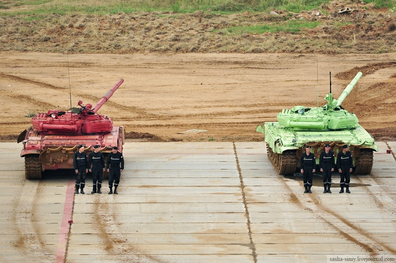 Colorful Army Drill In Pictures