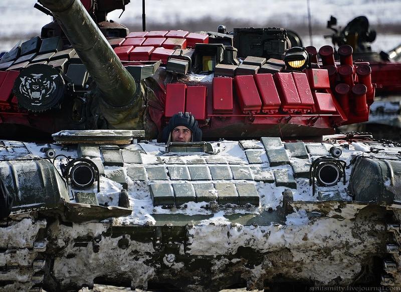 Tank Biathlon 2016 Featuring T-72