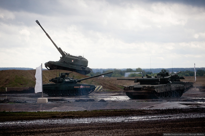 Tanks Bathing In the Mud