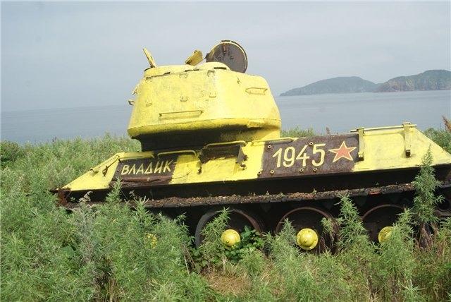 Wartime Soviet Tanks Got Painted