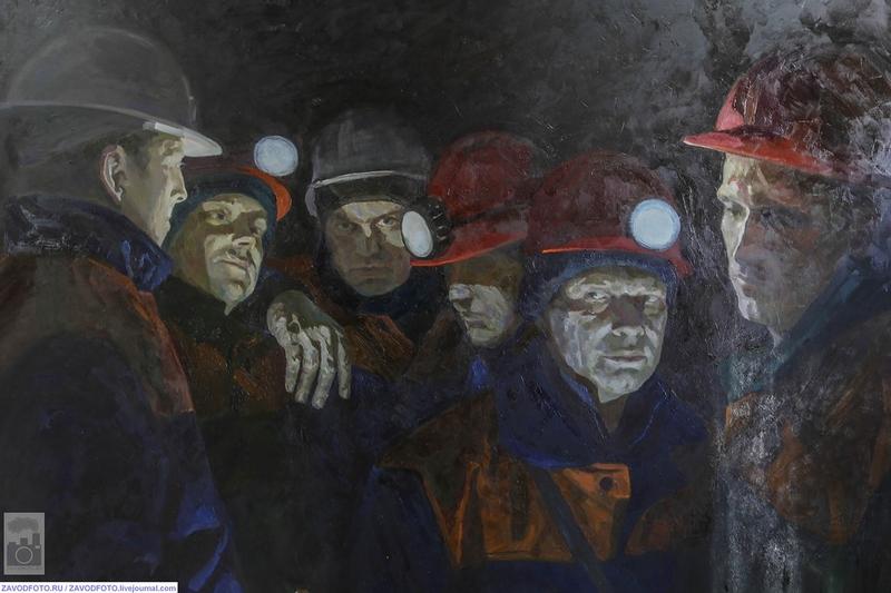 Industrial Paintings of Maxim Titov