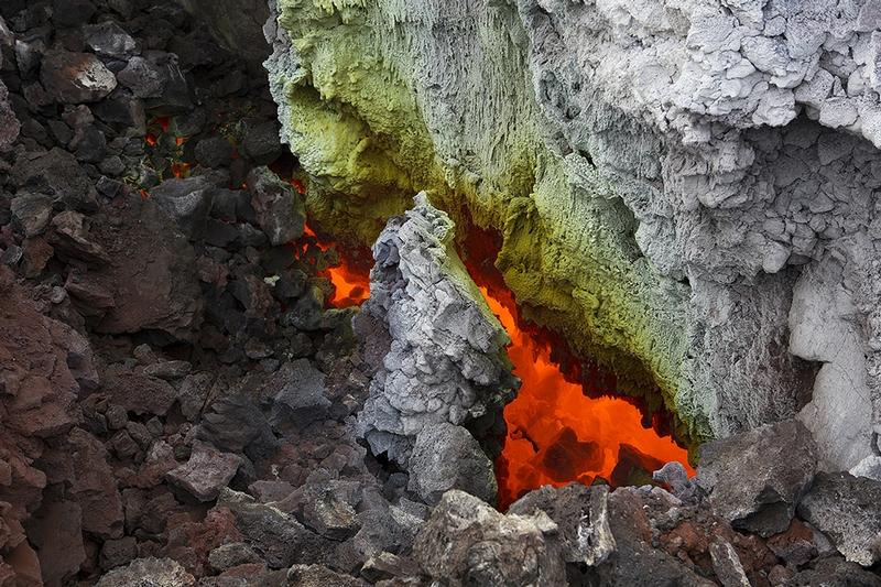 Boiling Lava of Tolbachik
