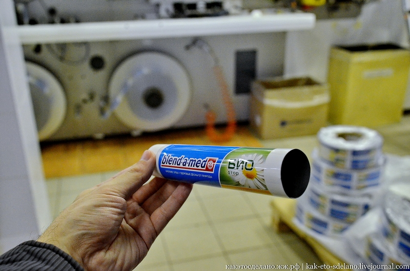 How Toothpaste Tubes Are Made