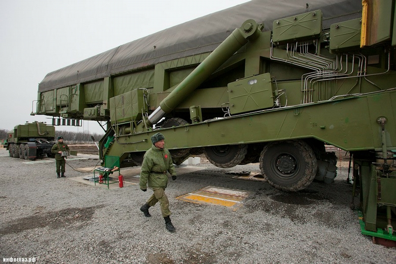 Transportation And Loading of the Intercontinental Ballistic Missile