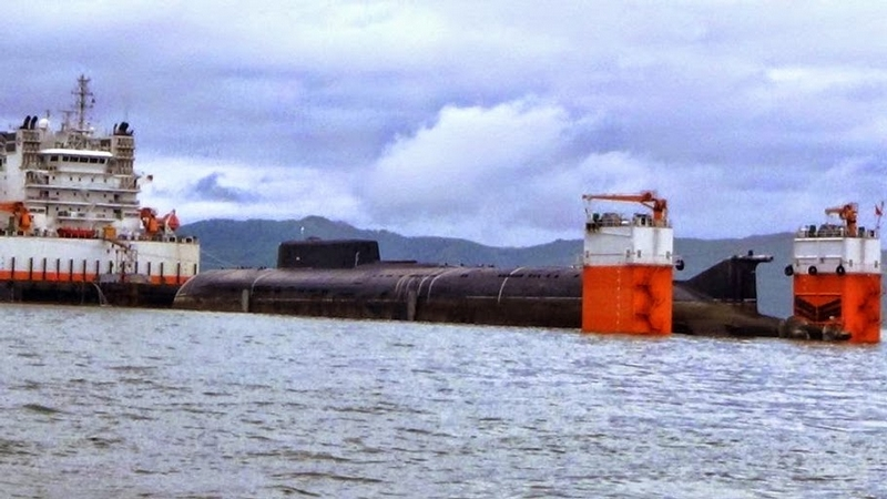 Russian Submarines On Their Way to Repair
