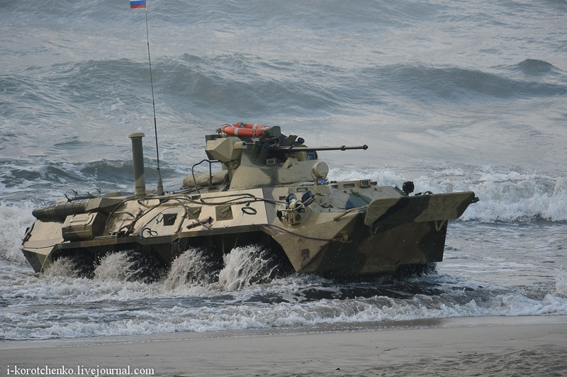 Russian Armoured Vehicles In Action