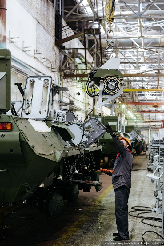Big Russian Producer of Armored Troop Carriers
