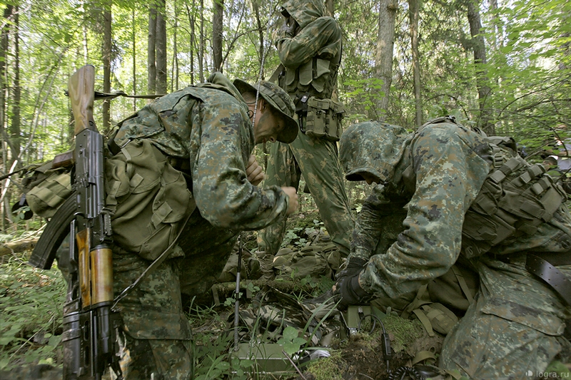 Training of the Special Airborne Regiment