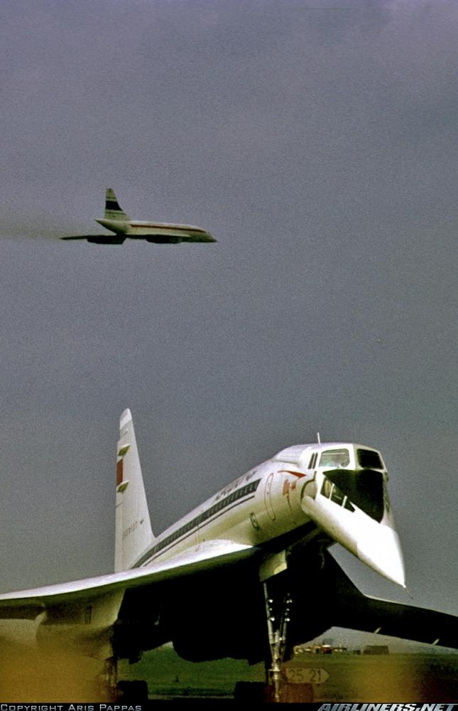 World First Supersonic Aircraft